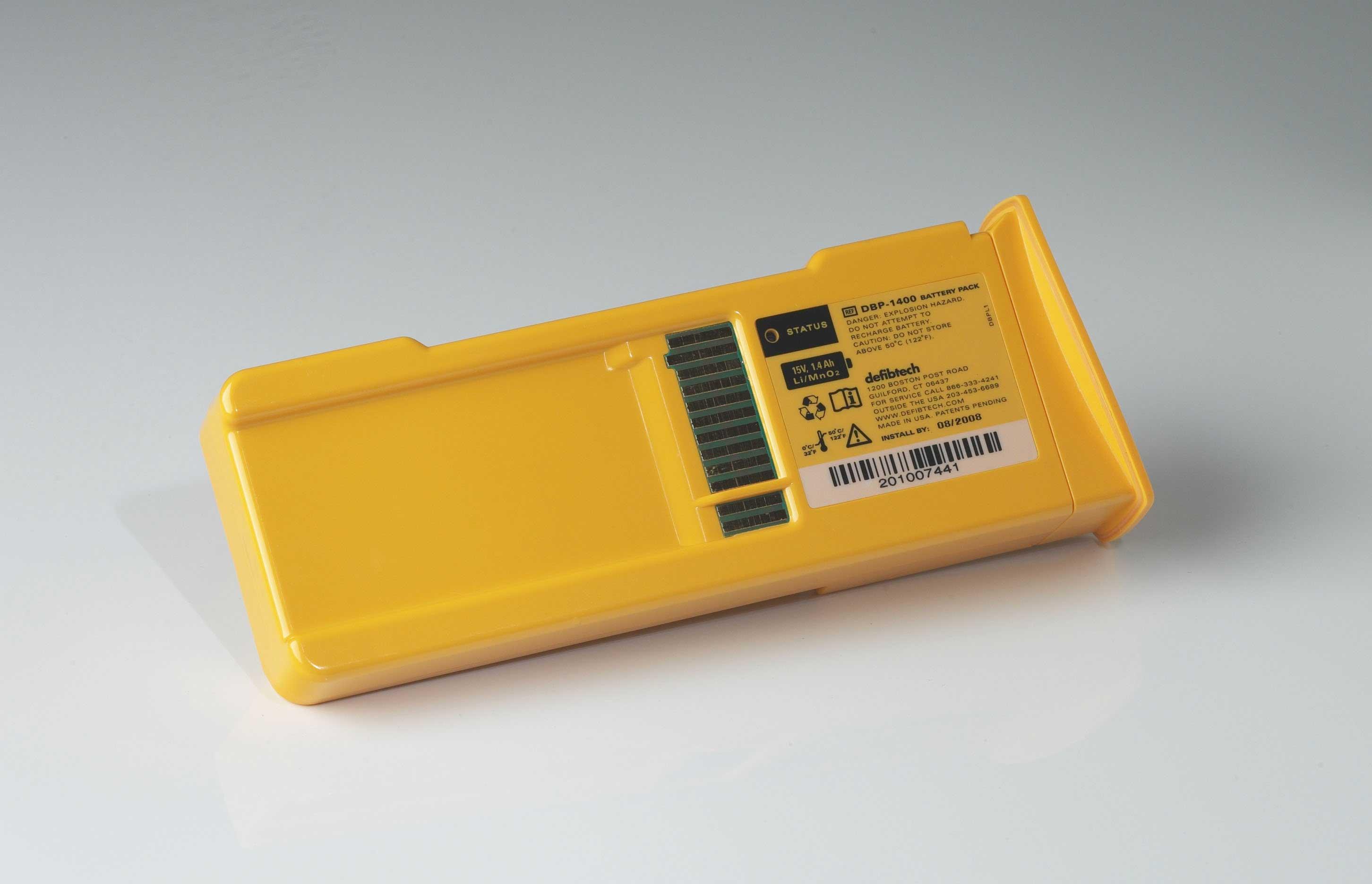 batteri til lifeline aed, 7 aar levetid